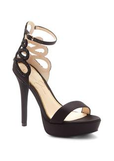 Jessica Simpson Bayvinn Satin Platform Sandals