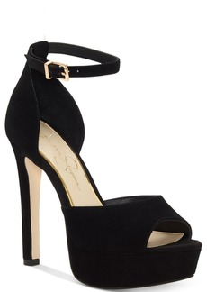 Jessica Simpson Beeya Two-Piece Platform Sandals, Created for Macy's Women's Shoes