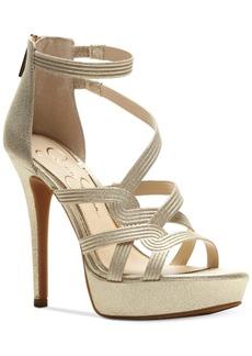Jessica Simpson Bellanne Caged Platform Sandals Women's Shoes