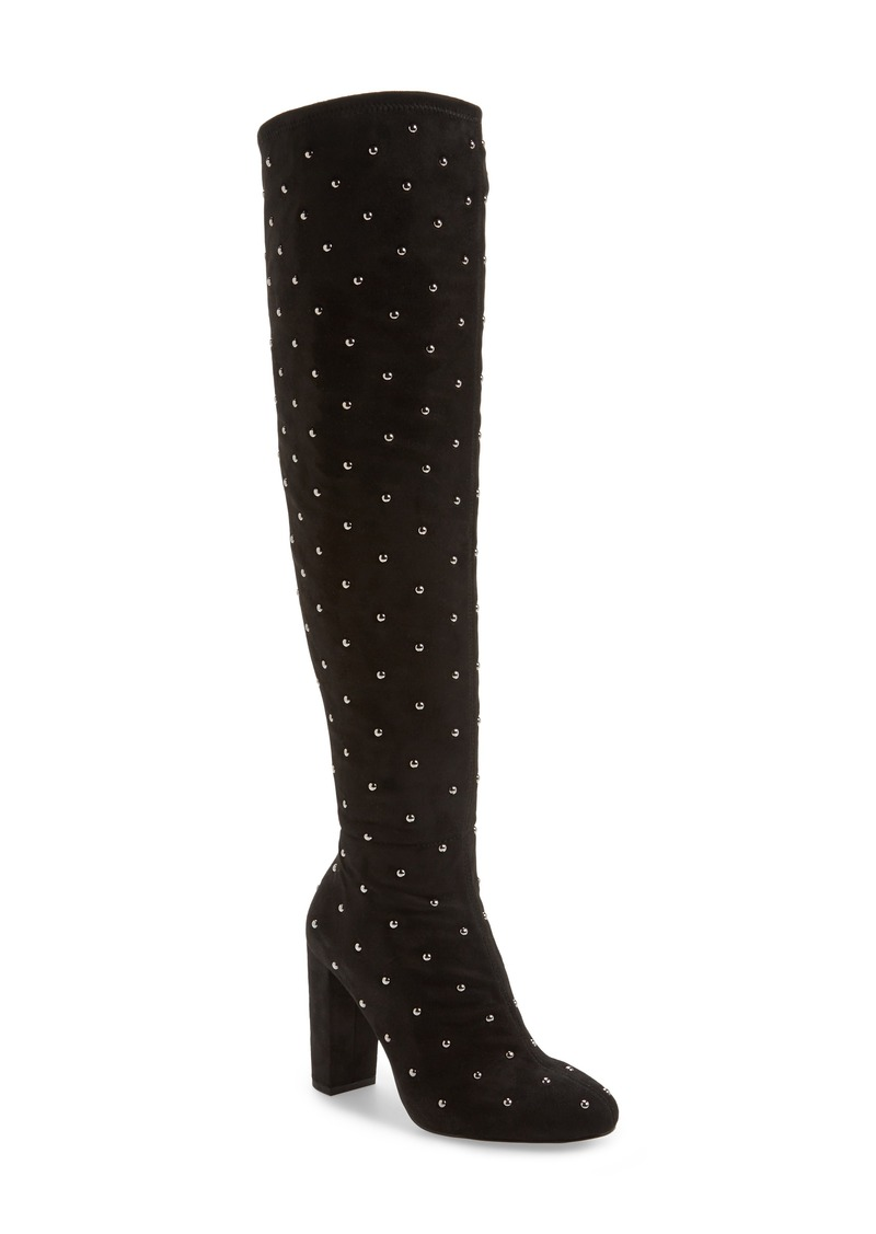 Jessica Simpson Bressy Studded Over the Knee Boot (Women)