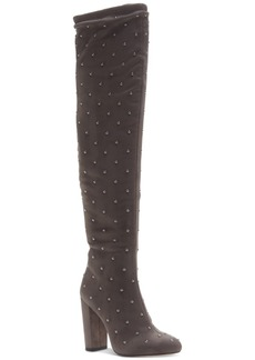 Jessica Simpson Bressy Studded Over-the-Knee Boots Women's Shoes