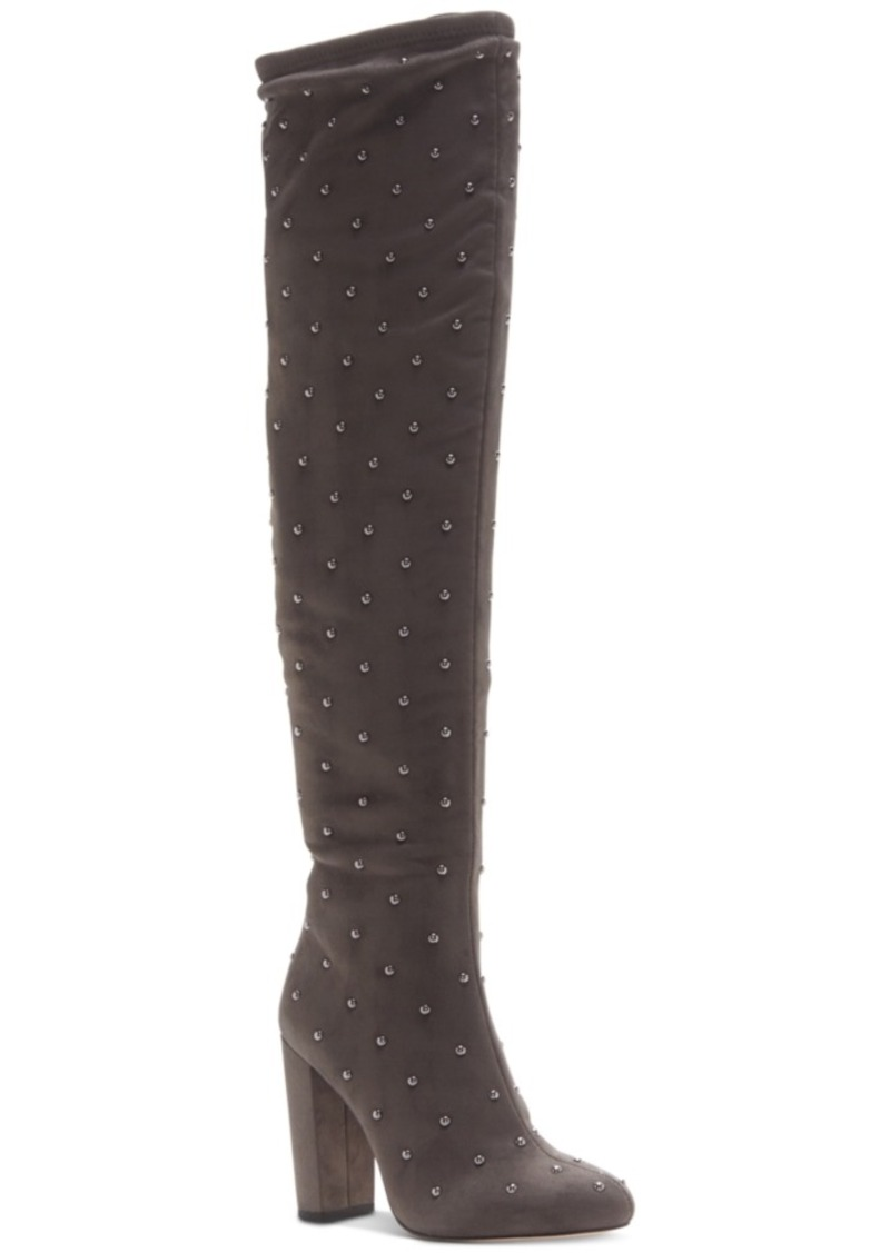 fcb9375f986 Jessica Simpson Jessica Simpson Bressy Studded Over-the-Knee Boots ...