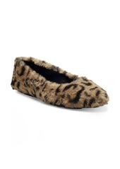 Jessica Simpson Brinley Faux Fur Flat (Women)