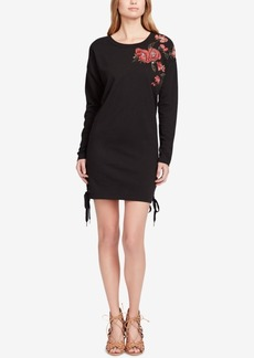 Jessica Simpson Brunetta Embroidered Sweater Dress