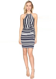 Jessica Simpson Bungee Faux Wrap Dress