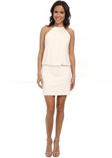 Jessica Simpson Bungee Necklace Blouson Dress