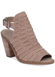 Jessica Simpson Celinna Peep-Toe Booties Women's Shoes