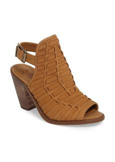 Jessica Simpson Celinna Peep Toe Slingback Bootie (Women)