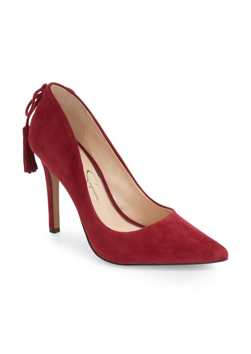 Jessica Simpson Centella Pointy Toe Pump (Women)