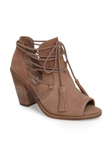 Jessica Simpson Ceri Split Shaft Open Toe Bootie (Women)