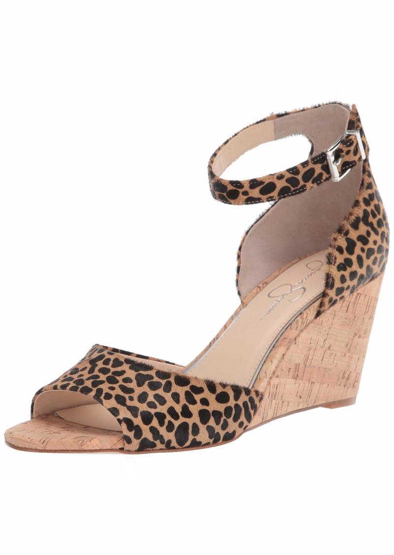 Jessica Simpson Women's Cervena Wedge Sandal