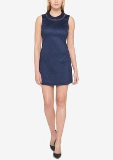 Jessica Simpson Chain Necklace A-Line Dress