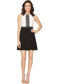 Jessica Simpson Chemical Lace Fit and Flare Dress