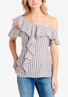 Jessica Simpson Claris One-Shoulder Top