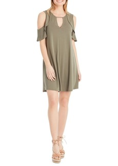 Jessica Simpson Cold-Shoulder Dress