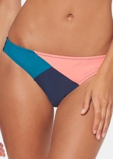 Jessica Simpson Colorblocked Hipster Bikini Bottoms Women's Swimsuit