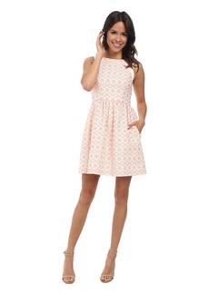 Jessica Simpson Coral Overlay Dress