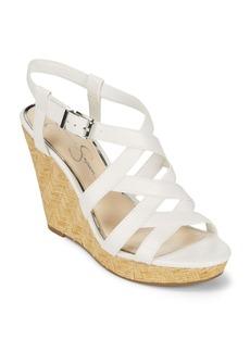 Jessica Simpson Crisscross Wedge Sandals