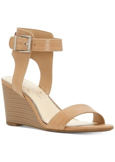 Jessica Simpson Cristabel Two-Piece Wedge Sandals Women's Shoes