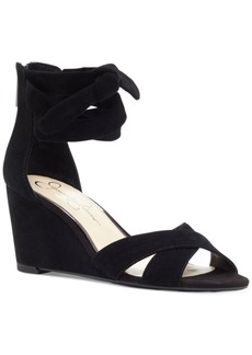 Jessica Simpson Cyrena Wedge Sandals Women's Shoes