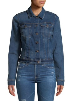 Jessica Simpson Distressed Denim Jacket