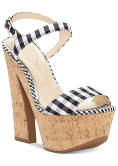 Jessica Simpson Divela Platform Sandals Women's Shoes