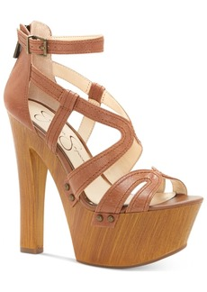 Jessica Simpson Dorrin Platform Strappy Sandals Women's Shoes