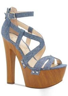 Jessica Simpson Dorrin Platform Strappy Sandals Women's Shoes