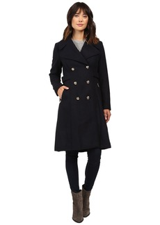 Jessica Simpson Double Breaster Military Duster