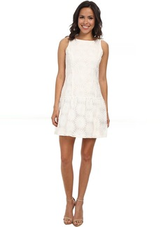 Jessica Simpson Drop Waist Fit and Flare Dress