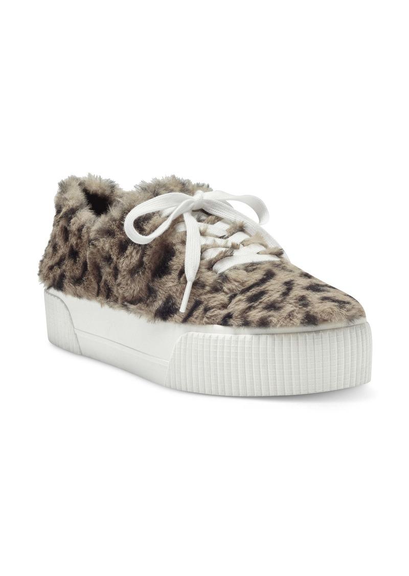Jessica Simpson Edda Faux Shearling Platform Sneaker (Women)