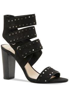 Jessica Simpson Elanna Embellished Block-Heel Sandals Women's Shoes