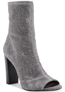 Jessica Simpson Elara Block-Heel Booties Women's Shoes