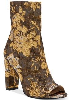Jessica Simpson Elara Block-Heel Booties Women's Shoes
