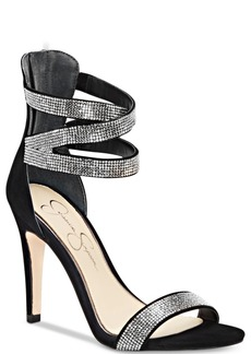 Jessica Simpson Elepina Rhinestone Dress Sandals Women's Shoes