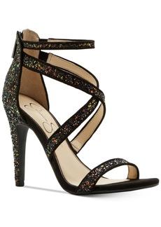 Jessica Simpson Ellenie Strappy Crisscross Sandals Women's Shoes