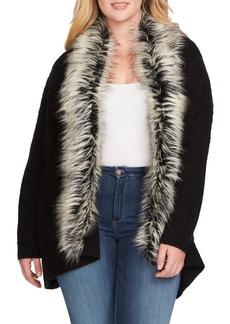 Jessica Simpson Elm Faux Fur Coat