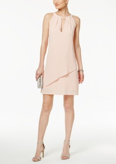 Jessica Simpson Embellished Tiered Shift Dress