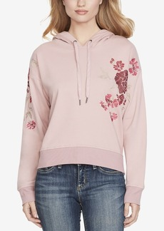 Jessica Simpson Embroidered Pullover Hoodie