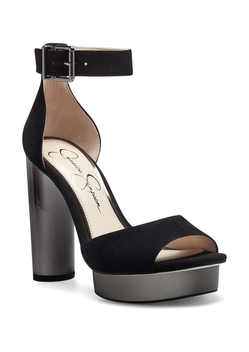 Jessica Simpson Everyn Platform Ankle Strap Sandal (Women)