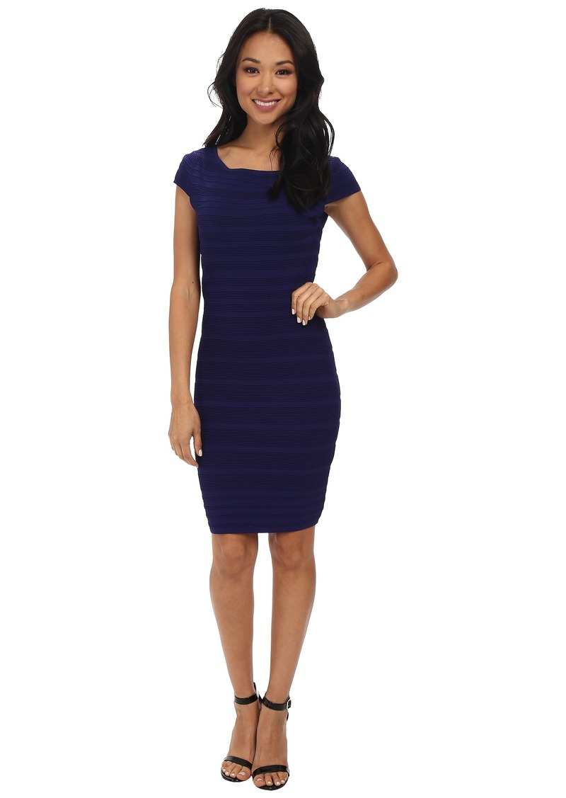 Jessica Simpson Fitted Rib Knit Dress JS5C7125