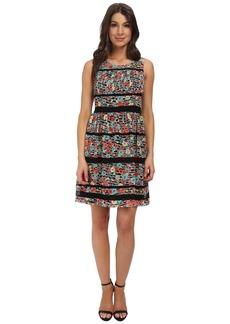 Jessica Simpson Floral Printed Chiffon Dress