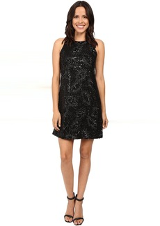 Jessica Simpson Floral Sequin Dress
