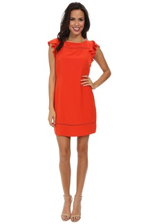 Jessica Simpson Flounce Ruffle Dress JS5E7140