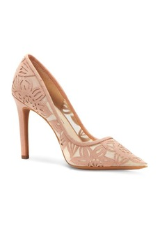 Jessica Simpson Flower Petal Point-Toe Pumps