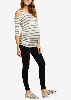 Jessica Simpson French Terry Maternity Leggings