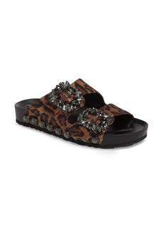 Jessica Simpson Gemelia Embellished Slide Sandal (Women)