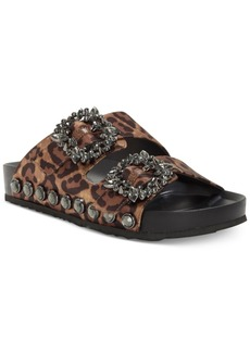 Jessica Simpson Gemelia Flatform Footbed Slide Sandals Women's Shoes