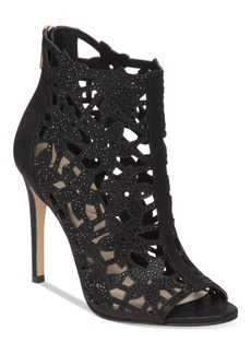 Jessica Simpson Gessina Embellished Peep-Toe Evening Sandals Women's Shoes