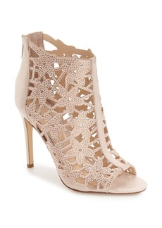 Jessica Simpson 'Gessina' Studded Laser Cut Bootie (Women)